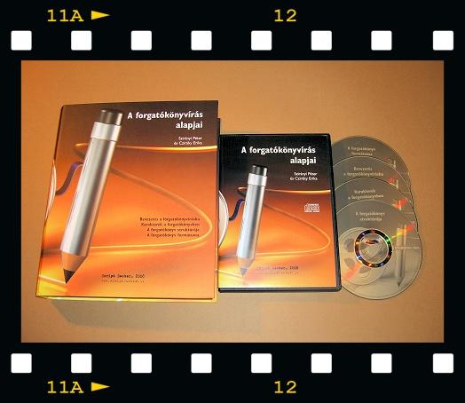 A forgatókönyvírás alapjai - otthoni tanfolyam csomag